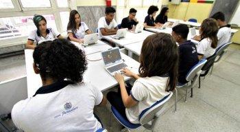 Hoje, o Estado conta com 412 escolas em tempo integral