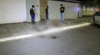 Imagens de câmeras de segurança serão analisadas paraidentificar o autor e a motivação do crime