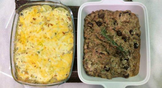 Aprenda a fazer Carne em Fatias ao Molho com Batatas Gratinadas