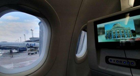 Avião da Azul faz pouso de emergência no aeroporto do Recife