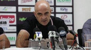 O novo comandante do Tricolor conversou com a imprensa