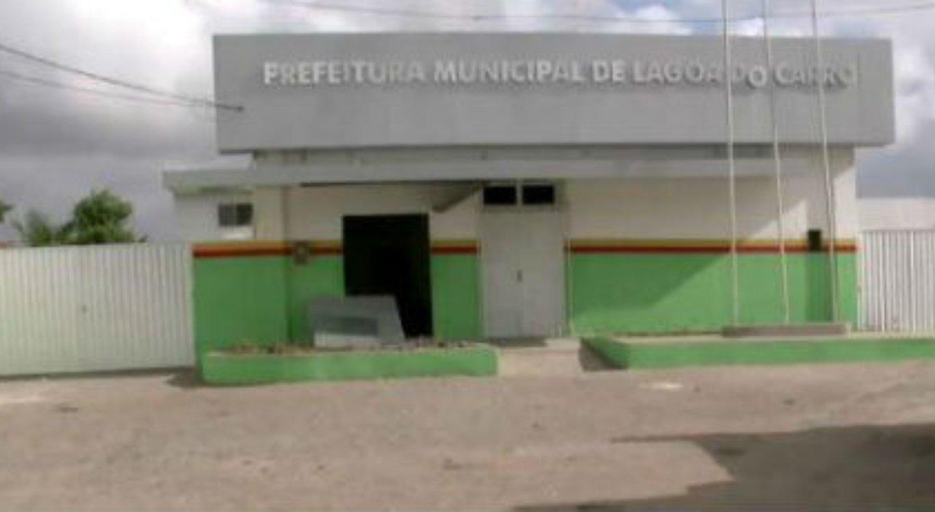 Prefeitura de Lagoa do Carro define empresa para concurso público