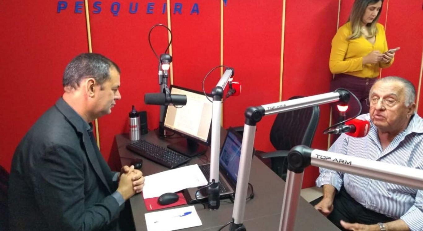 Na ocasião, João Carlos Paes Mendonça concedeu entrevista a Nildo Lucena, para o programa SuperManhã