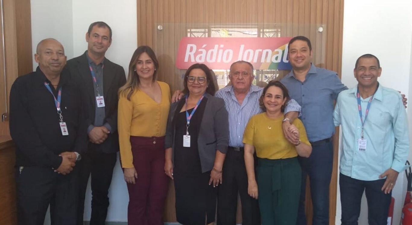 João Carlos Paes Mendonça dirigiu-se à sede da Rádio Jornal Pesqueira e depois seguiu para a cidade de Limoeiro