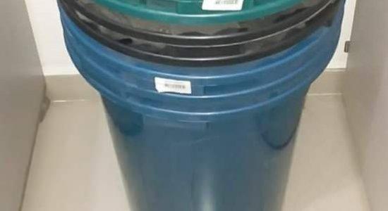 Homem é preso por furtar baldes em Caruaru