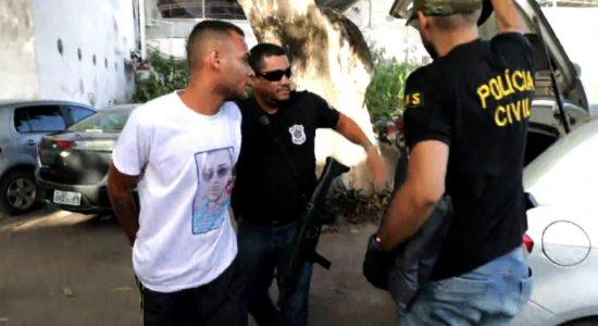 Polícia Civil prende grupo envolvido com tráfico de drogas em Igarassu