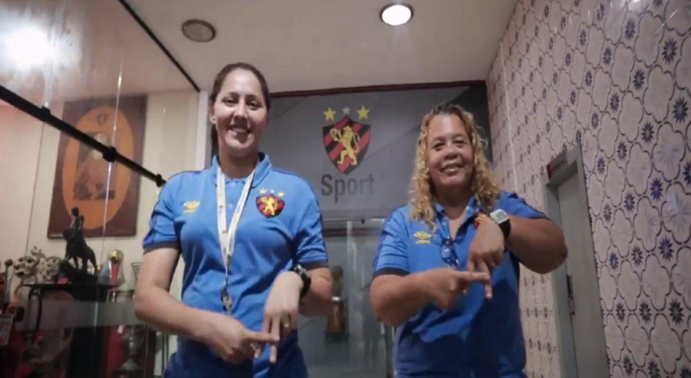 Clube divulgou nas redes sociais um vídeo com os funcionários que atuam nos bastidores do rubro-negro