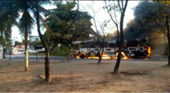 Ainda não sabe se o incêndio ocorreu de forma acidental ou criminosa