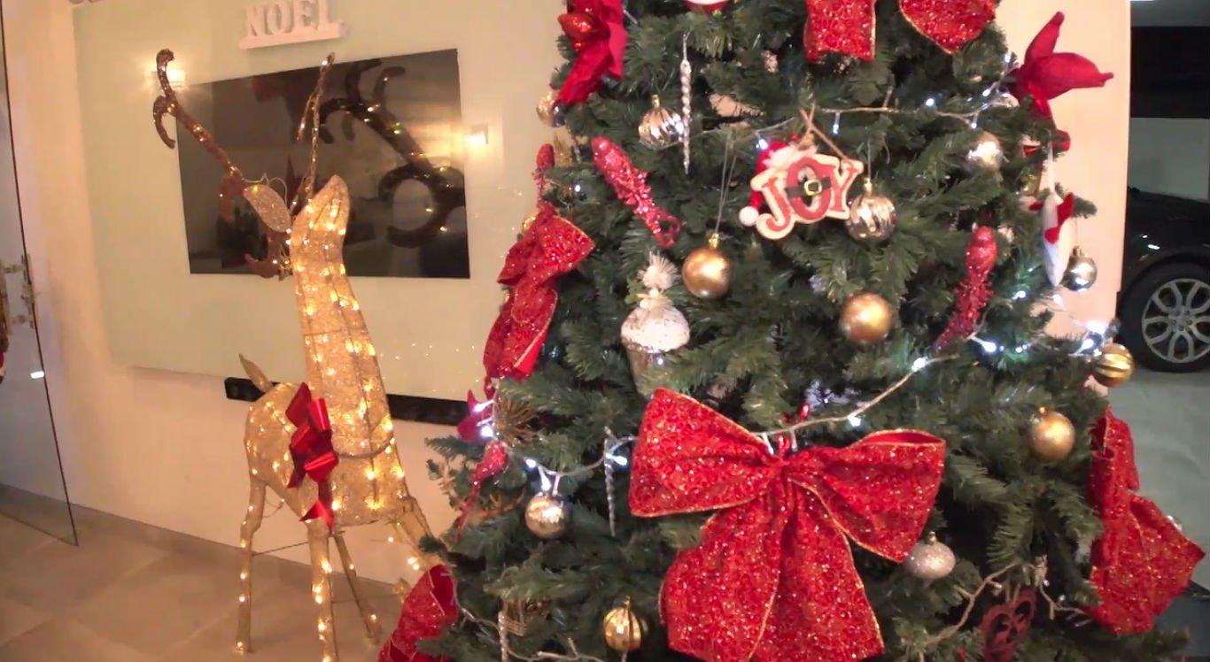 Decoração natalina pode ser colocada em várias áreas da casa
