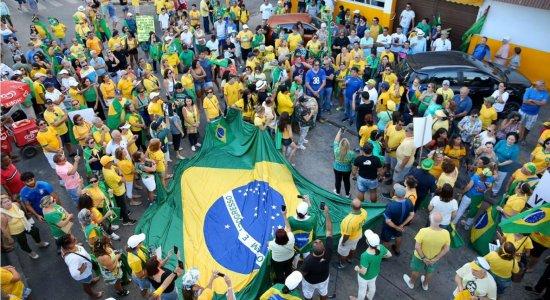 Movimento Vem Pra Rua realiza ato a favor de prisão em segunda instância