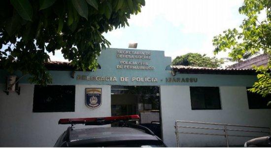 O suspeito foi encaminhado para a Delegacia de Igarassu