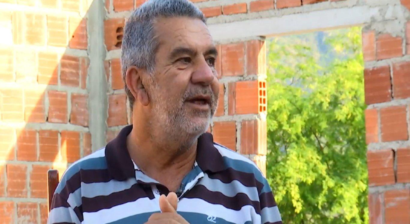 Frei é o criador do abrigo de idosos e sonha em construir uma casa maior para os idosos