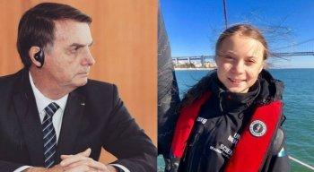 A jovem vem criticando com veemência o desmonte do governo Bolsonaro com as políticas ambientais