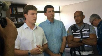 O prefeito de Petrolina, Miguel Coelho (MDB), concedeu entrevista para esclarecer o atentado contra o secretário executivo de Mobilidade de Petrolina, José Carlos Alves