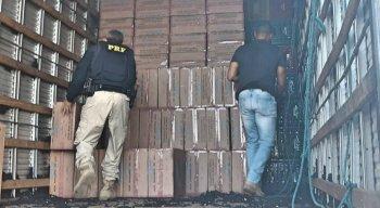 A carga foi recolhida pela PRF