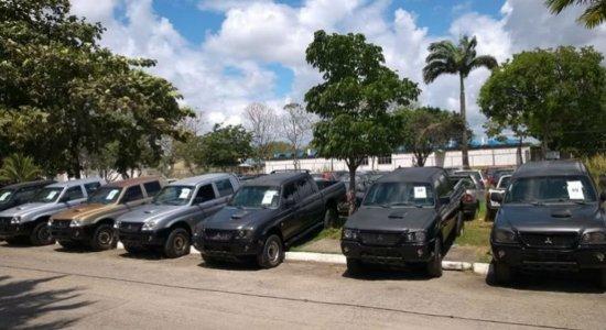 Polícia Federal coloca para leilão 76 viaturas
