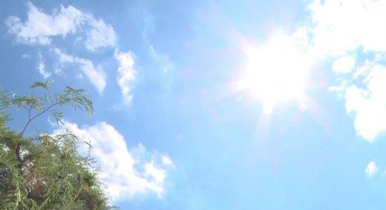 Em Floresta, temperatura atingiu 40,7°C