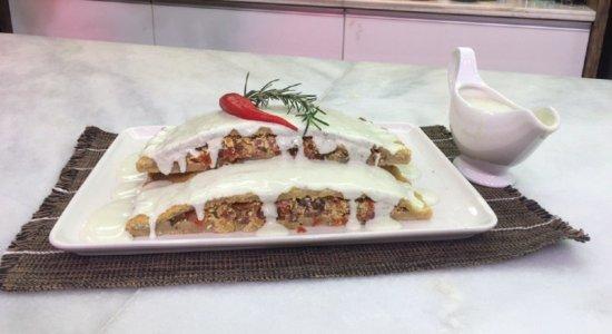 Aprenda a fazer um Nhoque de Forno Recheado com Molho Gorgonzola