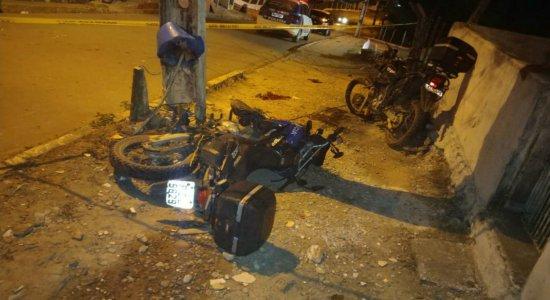 PM morre após colidir com um poste durante acompanhamento policial em Moreno