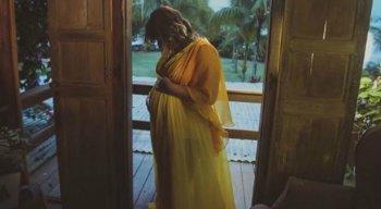 A cantora anunciou sua gravidez em maio