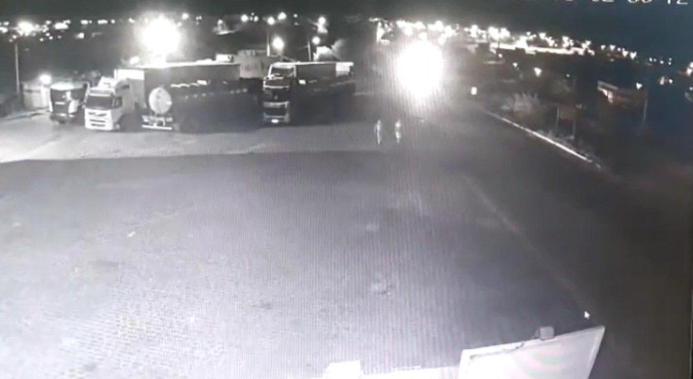 Vídeo mostra momento do atropelamento