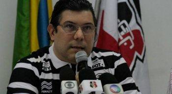 Alírio Moraes é o atual presidente do Conselho Deliberativo do Santa Cruz