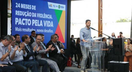 Pernambuco registra queda de 21% nos homicídios nos últimos 24 meses