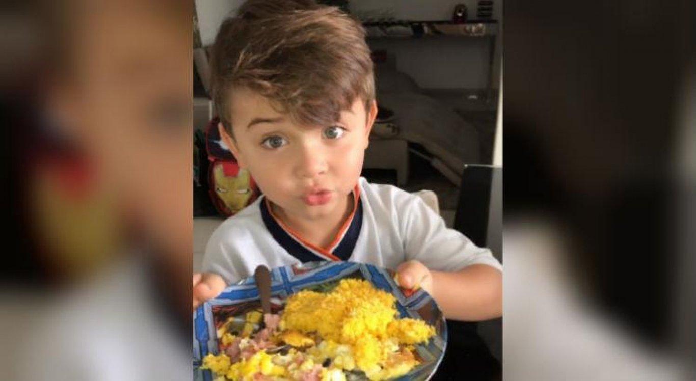 Pequeno João Davi tem mais de 1 milhão de seguidores no Instagram