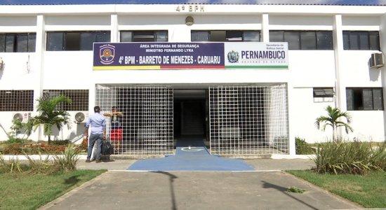 Sede do 4º Batalhão da Polícia Militar, sediado em Caruaru