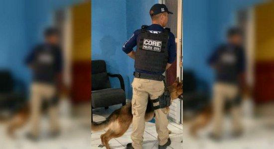 Grupo suspeito de homicídios e tráfico de drogas é alvo da polícia