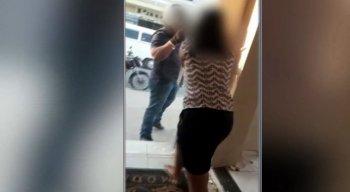 O casal estava separado desde o início do ano, mesmo assim, a mulher recebia várias ameaças