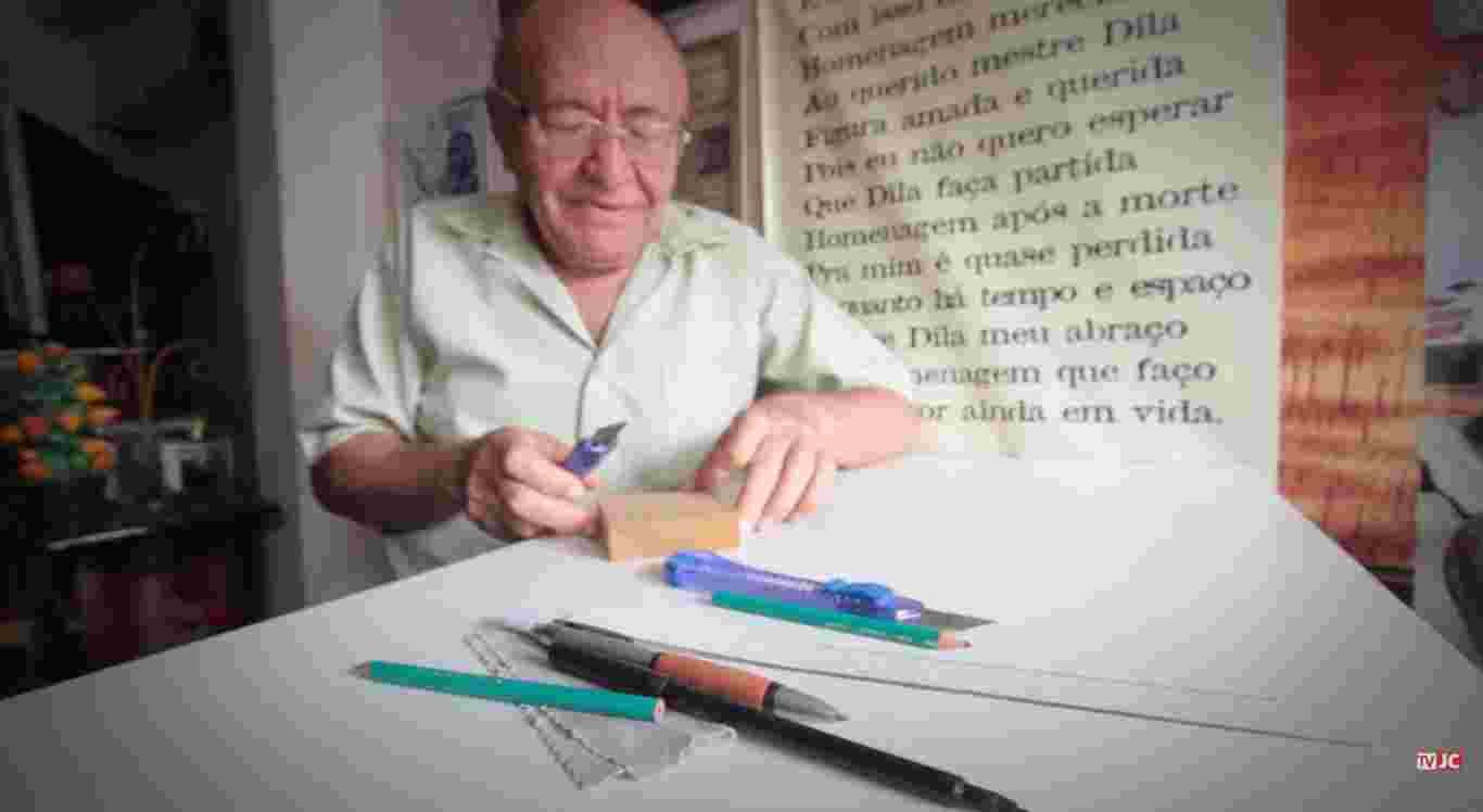 Mestre Dila morre aos  82 anos