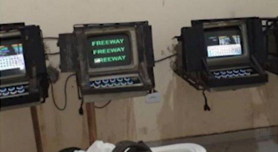 Máquinas caça-níqueis foram apreendidas em Limoeiro