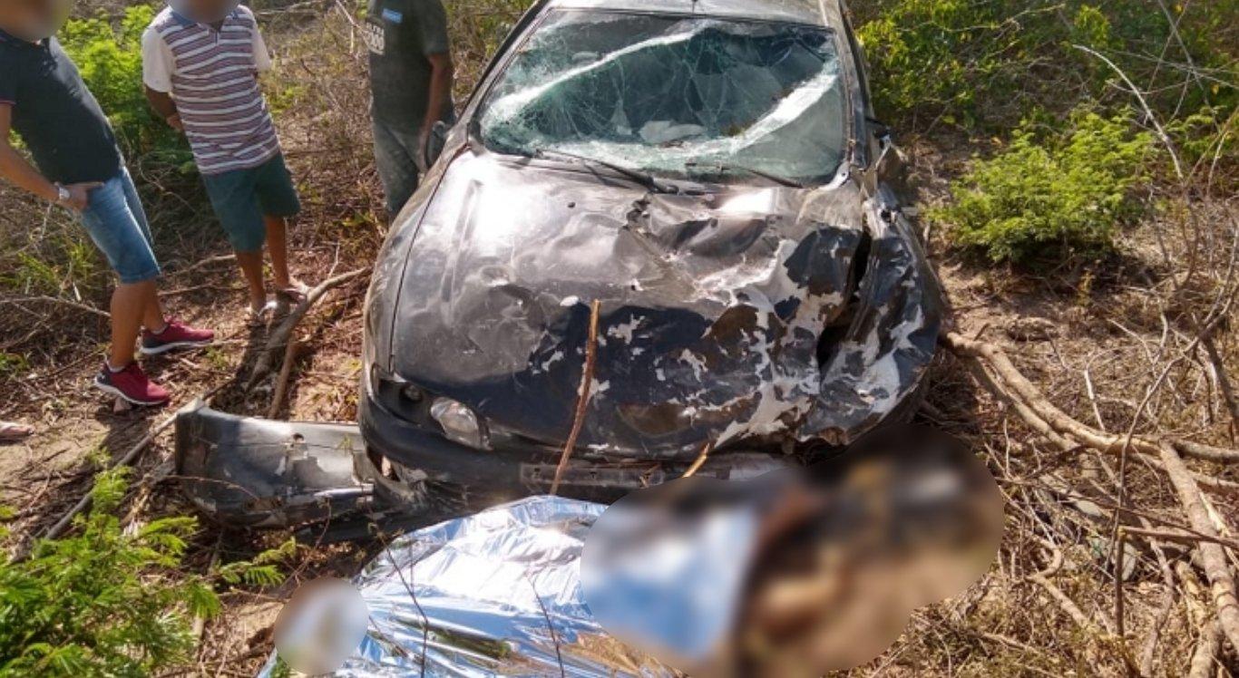 Mulher morreu em acidente em São João