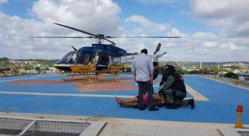 Segundo a PRF, o pedestre sofreu ferimentos graves e foi socorrido para o Hospital Dom Helder Câmara, no Cabo de Santo Agostinho