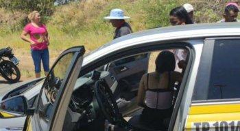 O taxista não resistiu aos ferimentos  e veio a óbito logo em seguida.