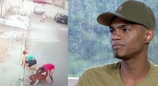 Após salvar menino de pitbull, jovem ganha curso de segurança