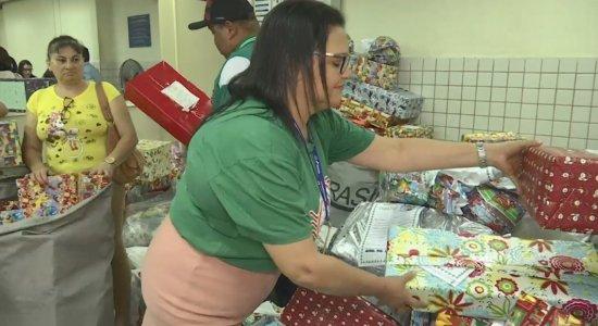 Mais de mil e quatrocentas cartinhas foram expostas neste ano nos Correios