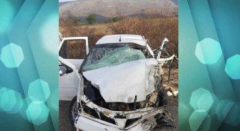 O motorista do caminhão não ficou ferido