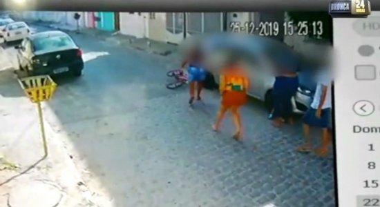 Vídeo: motorista atropela criança e vai embora na Zona Oeste do Recife