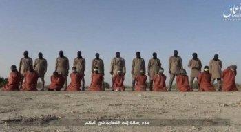 O grupo militante postou as imagens em seu canal de notícias online do Telegram na quinta-feira