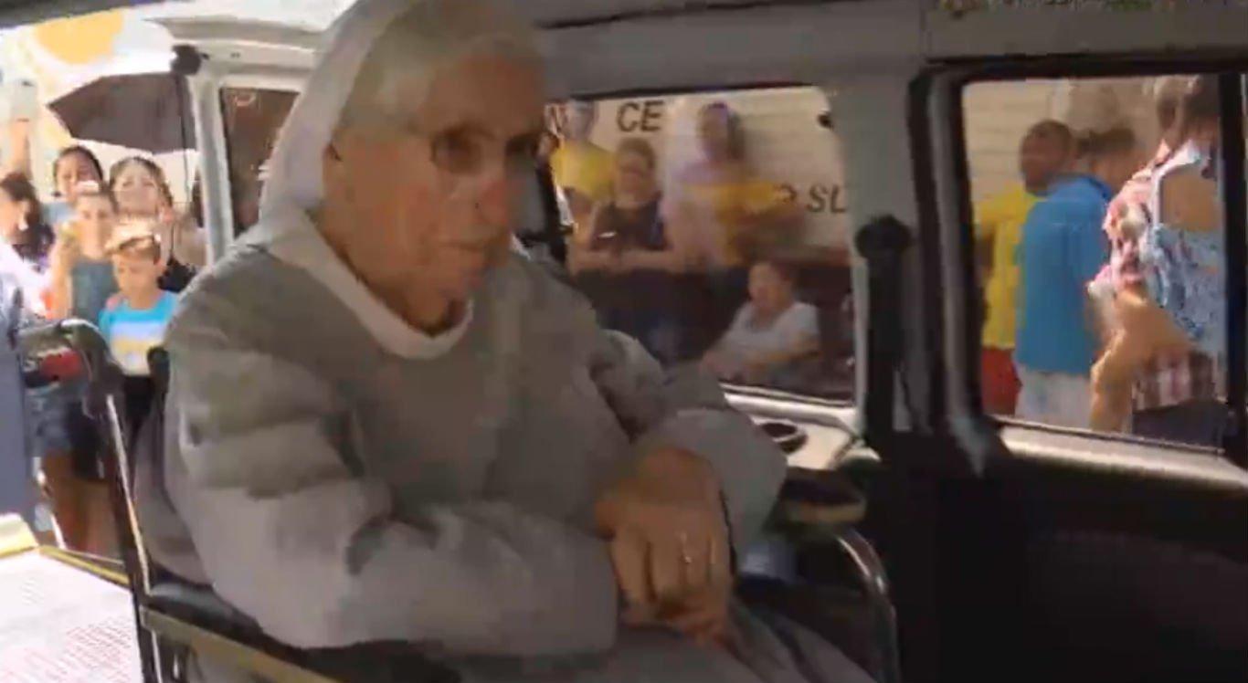 Religiosa se aposentou e foi morar no Recife