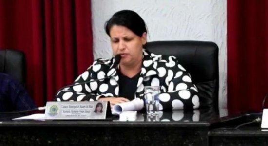 Presidente da Câmara de Nazaré da Mata é investigada por 'rachadinha'