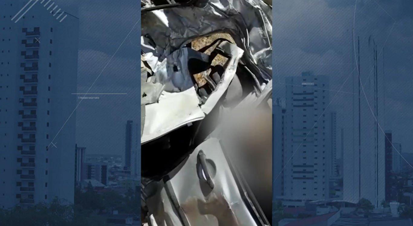 Policial militar não resistiu e morreu no local do acidente
