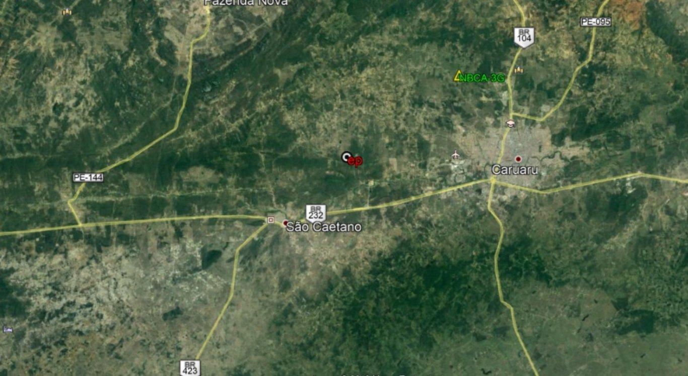 Tremores de terra são registrados em Caruaru