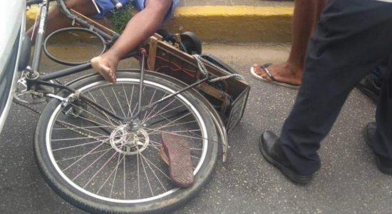Ciclista morre após colisão com ônibus em Olinda