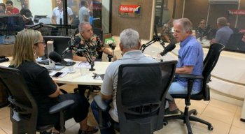 Presidente do TCU, José Múcio Monteiro, participa de debate na Rádio Jornal