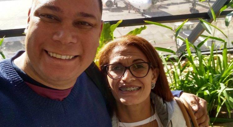 Edilson Donizete e Lucineide de Souza Goe