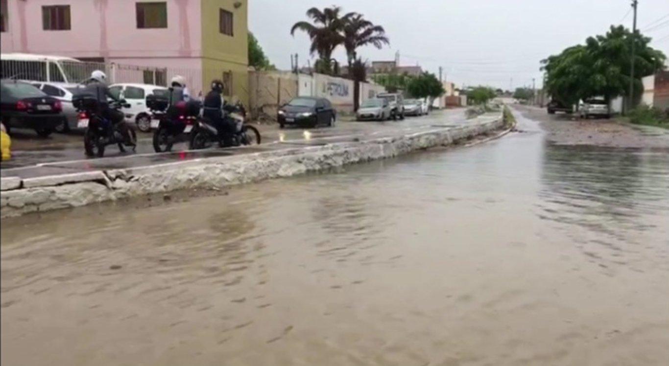 Chuvas fortes atingiram Petrolina