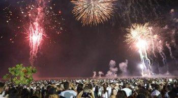 Festa da virada em Paulista